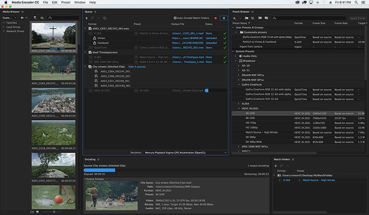 Adobe Media Encode